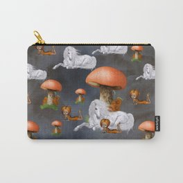 Cute fairy with unicorn pattern Carry-All Pouch