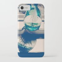 globe iPhone & iPod Cases featuring Globe by M. Elizabeth