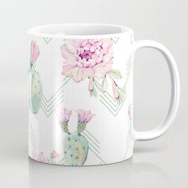 Cactus Chevron Southwestern Watercolor Coffee Mug