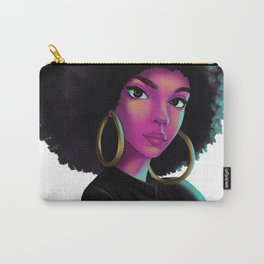 purple wave Carry-All Pouch