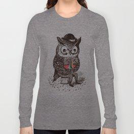 Strange Owl Long Sleeve T-shirt