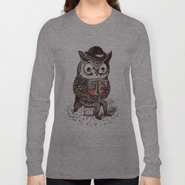 Strange Owl Long Sleeve T-shirt