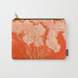 BOTANICAL STILL LIFE - ORANGE ABSTRACT Carry-All Pouch
