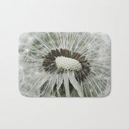 Dandelion Photograph   Nature   Plant   Botanical Bath Mat