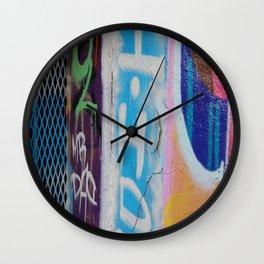graffitti Wall Clock