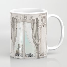 Eiffel Tower room with a view Coffee Mug