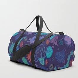 Creatures Of the Deep Sea Duffle Bag