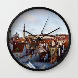Tallinn, Estonia Wall Clock
