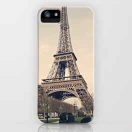 Good Morning Paris iPhone Case
