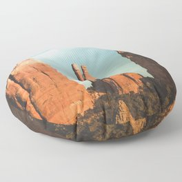Desert Vortex Floor Pillow