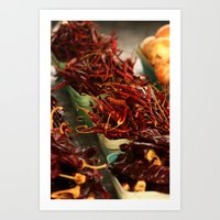 chile Art Prints featuring Chile Peppers by 4364