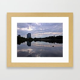 Grenadier Pond, High Park Framed Art Print