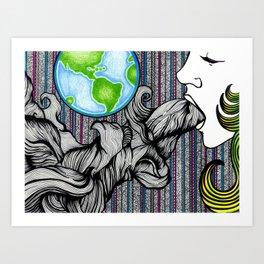 Earthling Art Print