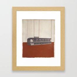 Katowice Framed Art Print