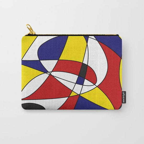 MONDRIAN AND GAUSS Carry-All Pouch