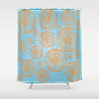 marine Shower Curtains featuring marine by Maritserg