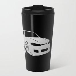 Nissan Silvia S15 - silver - Travel Mug