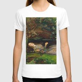 Ophelia - John Everett Millais T-shirt