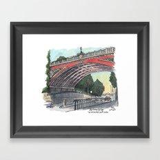 Archway Bridge Framed Art Print