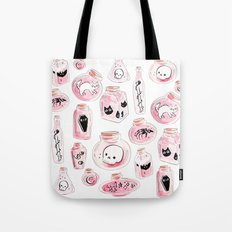 Pastel Witchy Bottles Tote Bag
