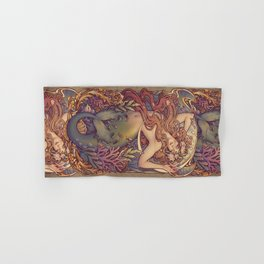 Andersen Little Mermaid Nouveau Hand & Bath Towel