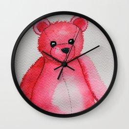 Rosy the Bear Wall Clock