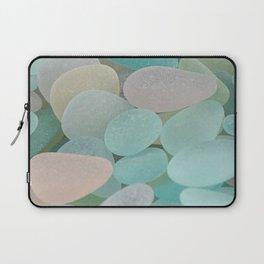 Sea Glass Ocean Shore Laptop Sleeve
