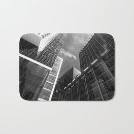 Glass Business Window Building Abstract London Bath Mat