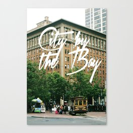 City By The Bay - San Francisco Canvas Print