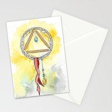 Gold Dreamcatcher Stationery Cards