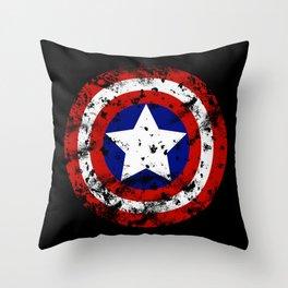 Captain's Shield Throw Pillow