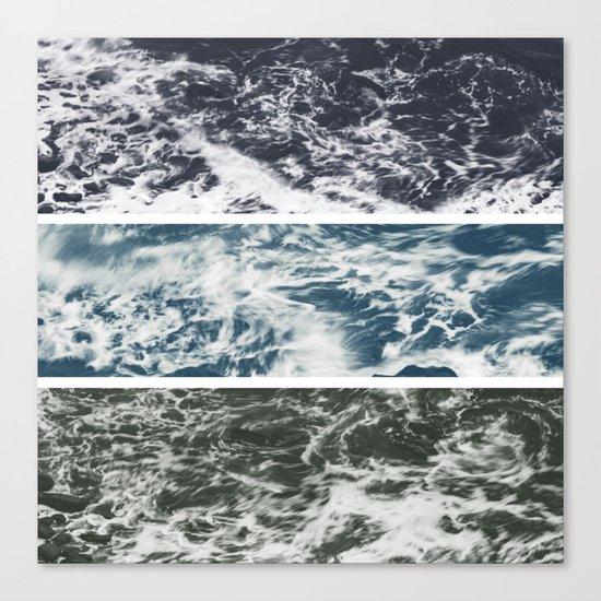 SaltWater Tryptych Variation II Canvas Print