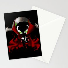 Chibi Spawn Stationery Cards