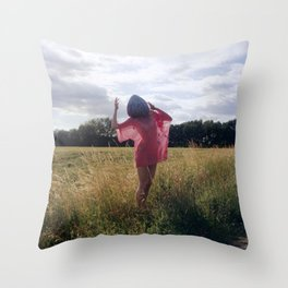 Big Girls Cry Throw Pillow