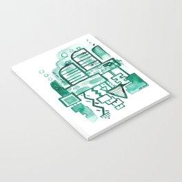 Inktober Green ink drawing 1 Notebook