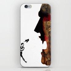 Blade vs the world iPhone & iPod Skin
