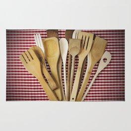 Kitchen utensil Rug