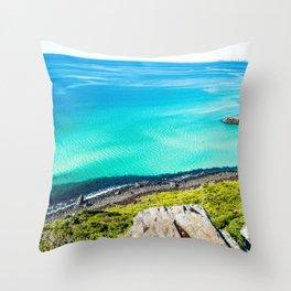 Gold Coast Stunner Throw Pillow