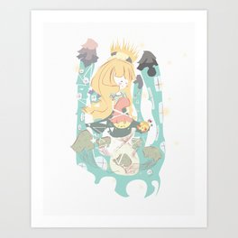 A Sanctuary Art Print