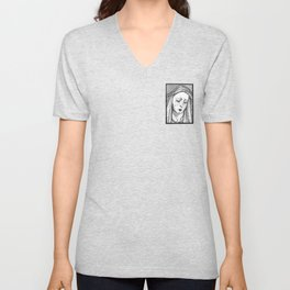 Crying Virgin Unisex V-Neck