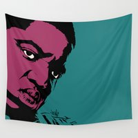 notorious Wall Tapestries featuring Notorious by Vee Ladwa