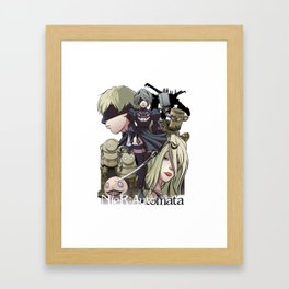 Automata Cast Framed Art Print