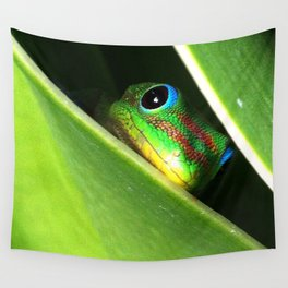 Eyes in the Grass Wall Tapestry