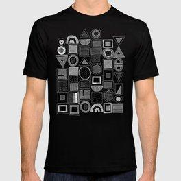 frisson memphis bw inverted T-shirt