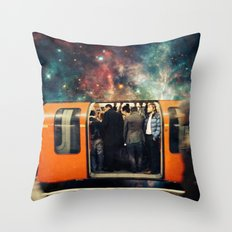 Mind The Galaxy | London Tube Series Throw Pillow