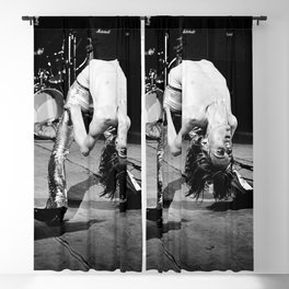 Iggy#Pop performing live classic photo, housewarming gift for him her, photo print, vintage poster, music poster Blackout Curtain