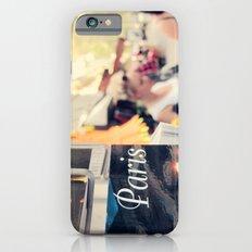 Paris street scene Slim Case iPhone 6s