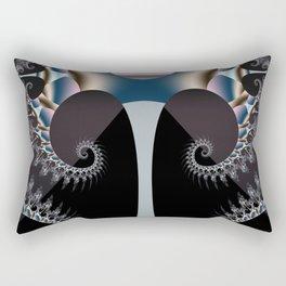 fractalized tree -01- Rectangular Pillow