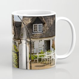 Thatched cottage in the country Coffee Mug