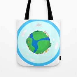 Nano Planet Tote Bag